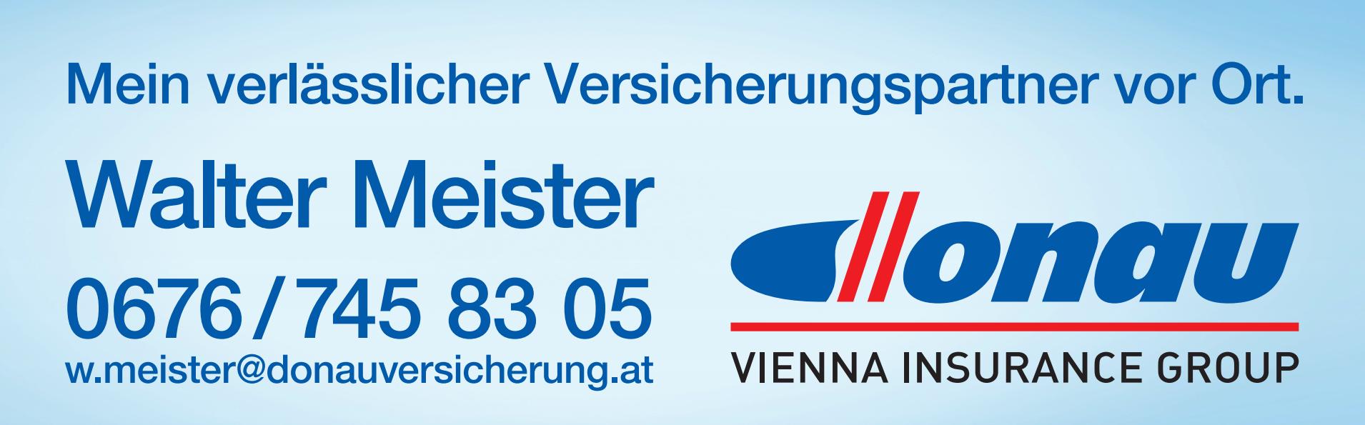 Donau Walter Meister